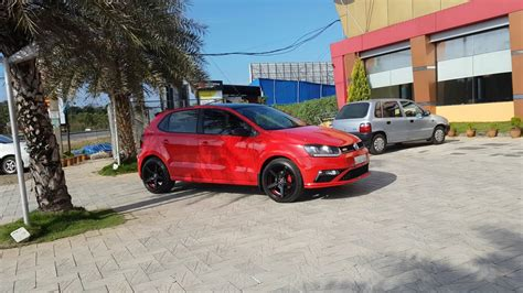 vw polo gt tsi modified vossen cv   youtube