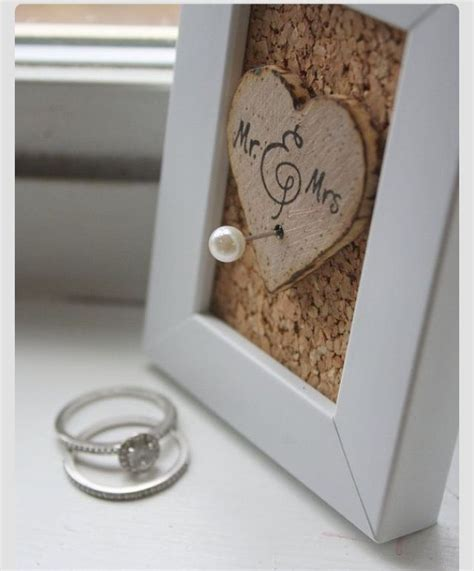 diy ring holder love the frame and concept by itself maybe not as a ring holder love