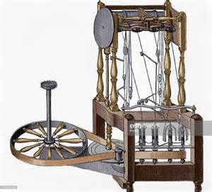 Spinning Frame Richard Arkwright Water Powered By