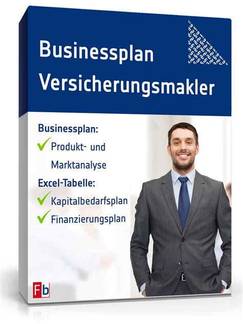 businessplan versicherungsmakler