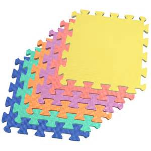 Foam Carpet Squares by Multi Color 72 Sqft Interlocking Child Daycare Mats Kids