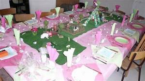 Deco Table Bapteme Fille : d coration de table ~ Preciouscoupons.com Idées de Décoration