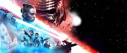 Wars 4k Banner Wallpapers Resolution Movies Skywalker