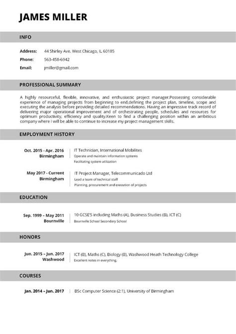 My Resume by Resume Builder