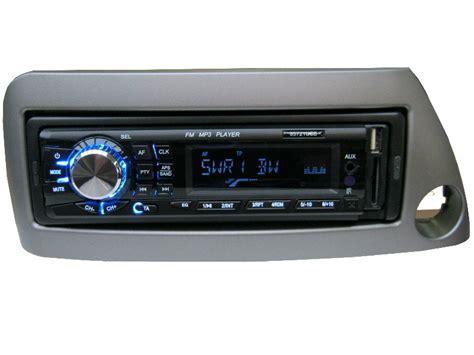 usb mp3 rds autoradio radio ford ka set 4 x 50 watt blende grau ebay