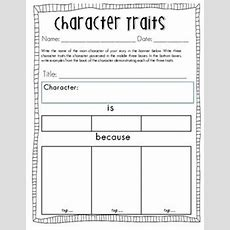 Teaching Character Traits  My Everyday Classroom