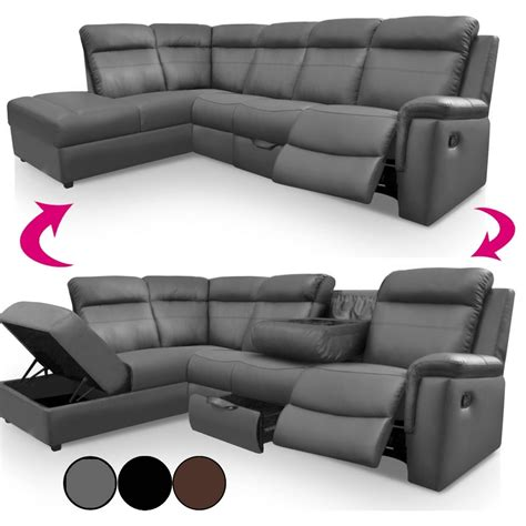 canape relax simili cuir 15 canap 233 et fauteuil relax
