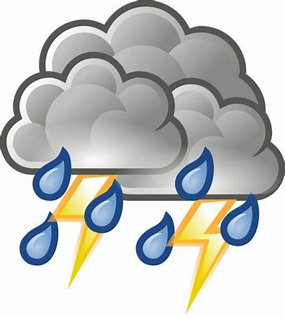 Storm Thunder Svg Clipart Drawings 1kb 2000