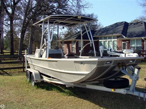 Custom Aluminum Boats In Texas by 2009 Used Scullys Custom 20 Aluminum Fishing Boat For Sale