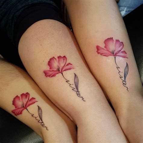 40 Super Cute Sister Tattoos Tattooblend