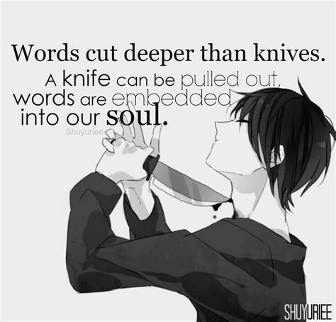 words cut deeper  knives  knife   pulled