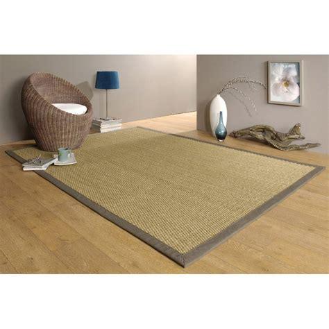 jonc de mer exterieur tapis taupe jonc de mer 4x4 l 140 x l 195 cm leroy merlin