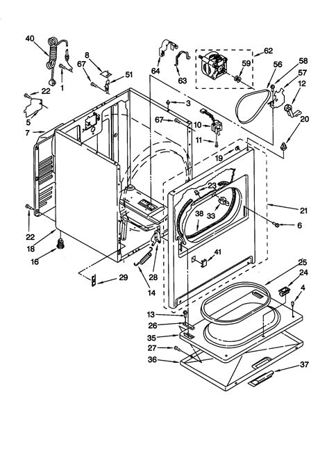 Kitchenaid Parts Dryer by Kitchenaid Gas Dryer 3402844 Burner Assembly Parts Model