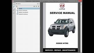 Dodge Nitro - Service Manual    Repair Manual