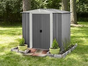 Abri De Jardin Arrow : abri de jardin en acier lm 65 arrow cabanes de jardin ~ Dailycaller-alerts.com Idées de Décoration