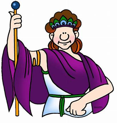 Ancient Roman Gods Greek Hera Rome Clipart