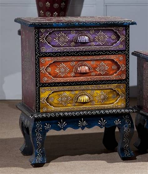 Furniture India by Three Drawer Colorful Chest Incd22 Incd22 Rs5 100