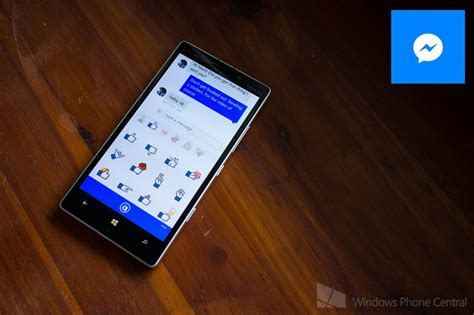 messenger app for windows phone adds in new update windows central