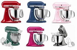 Kitchenaid Mixer Colors Chart Kitchenaid Artisan Stand Tilt Mixer 5 Qt For 144 99