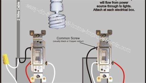 Way Switch Wiring Diagram Power Then From