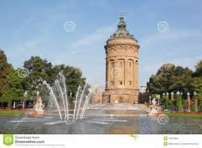 grafik design mannheim local landmark wasserturm in mannheim germany royalty free stock photos image 11061688