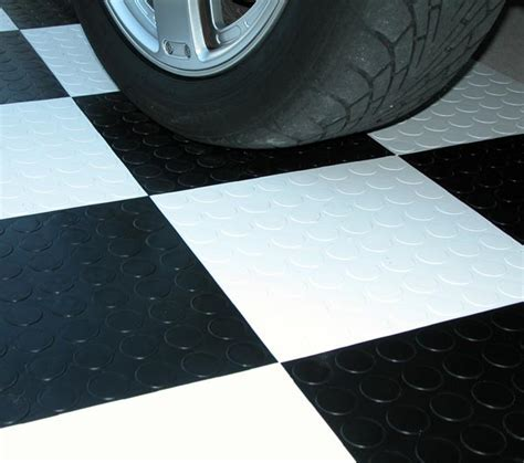 CoinTop Interlocking Garage Tiles are Modular Garage Tiles