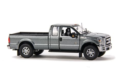 Ford F250 Pickup Truck Wsuper Cab & 8ft Bed Graydhs