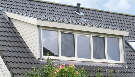 flauw pannendak houtlook dakkapel 4 50 meter ruiter dakkapellen