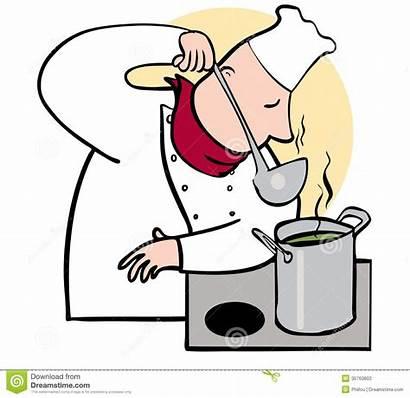 Taste Clipart Smelling Chef Smell Bad Tasting