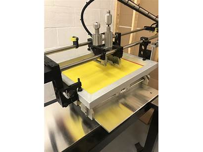 Automation Machine Printing Screen Pneumatic Systematic F1