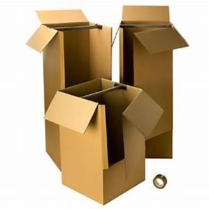 Cartons De Déménagement Gratuit : kit v tement d m nagement avec 1 rouleau adh sif gratuit ~ Melissatoandfro.com Idées de Décoration