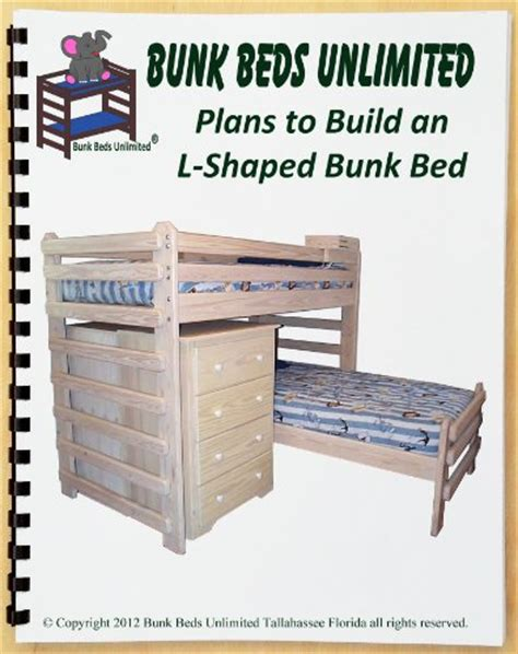 woodworking plans for l shaped bunk beds quick