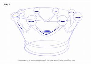 Learn How To Draw A Crown For Kids  Everyday Objects  Step