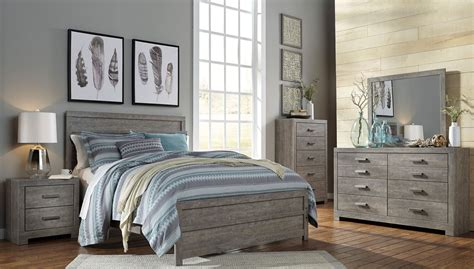 culverbach panel bedroom set  ashley coleman furniture