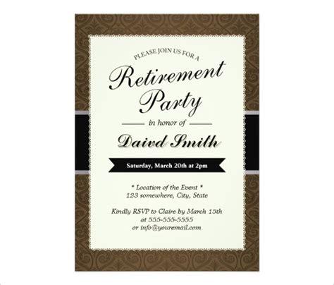 free retirement flyer template word 30 retirement invitation design templates psd ai vector eps free premium templates
