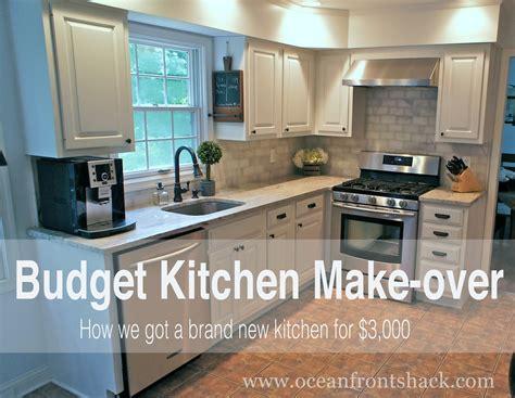 Budget Kitchen Makeover Ocean Front Shack