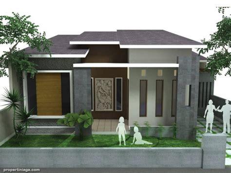 gambar contoh desain rumah minimalis modern warna