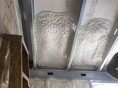 spray foam insulation     exterior walls