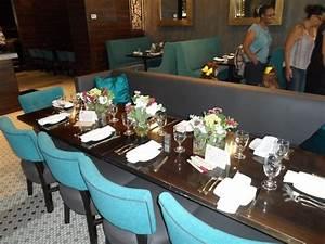 table set for bridal shower picture of revel restaurant With wedding shower restaurants