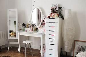 Miroir Maquillage Ikea : coiffeuse meuble ikea perfect bedrooms pinterest ~ Teatrodelosmanantiales.com Idées de Décoration