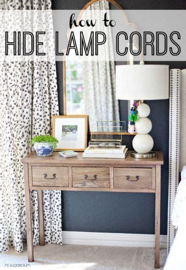 Hi Sugarplum   How To Hide Lamp Cords, DIY idea for home