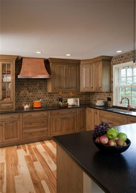 quarter sawn white oak inset cabinets  hickory hardwood
