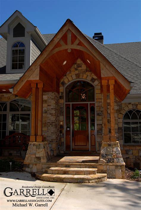 montana lodge house plan  garrell associates