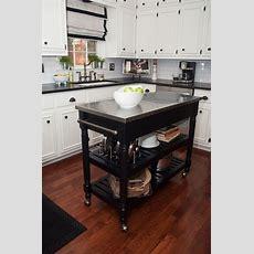 Portable Kitchen Island On Pinterest  Moveable Kitchen