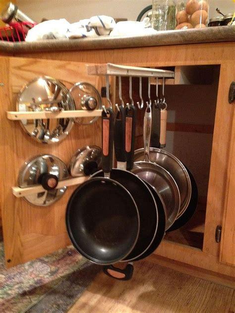 diy pot rack  pipes  home depot kitchen organization diy home decor kitchen kitchen