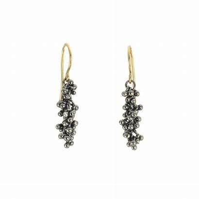 Opal Earrings Dangle Caviar Magally Granulation Lopez