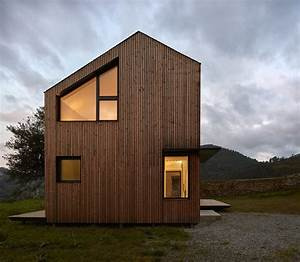 Modern Modular House Assembled In A Factory And Installed In Asturias  Spain