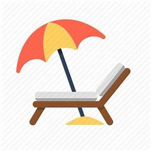 Beach, beach chair, beach umbrella, chair, travel ...
