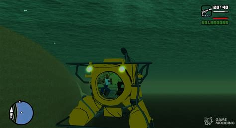 gta  submersible submarine  gta san andreas