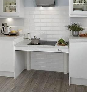 Plan De Travail 1m : plan de travail hauteur r glable houdan cuisines ~ Melissatoandfro.com Idées de Décoration